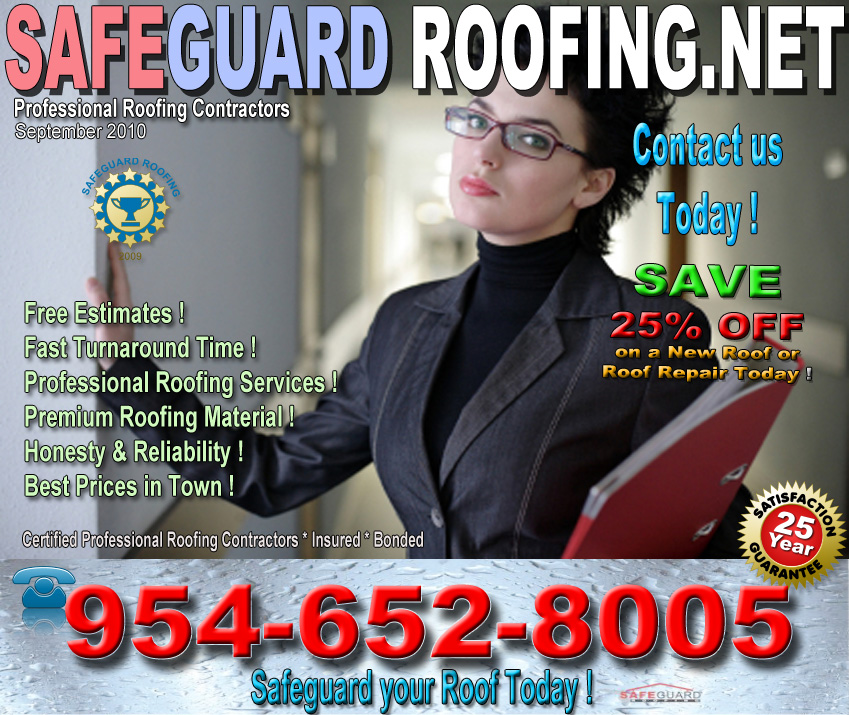 Roofing Repairs at Safeguard Roofing Services