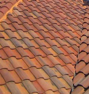 Tile roof roof tile types for Type of roof tiles
